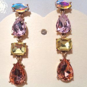 14K Yellowe Gold Over Vintage Art Deco Gemstone